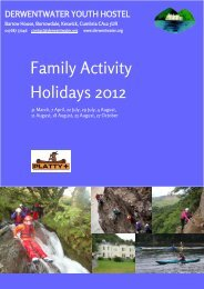 Family Activity Holidays 2012 - Primary Times
