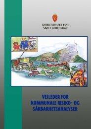 Veileder for kommunale risiko- og sårbarhetsanalyser