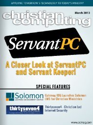 Download - Christian Computing Magazine