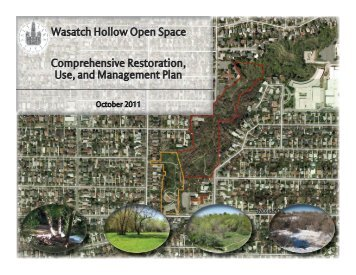 Wasatch Hollow Open Space Comprehensive Restoration, Use, and ...