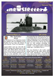 September 12 - Barrow Submariners Association
