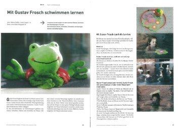Mit Gustav Frosch schwimmen lernen - rex buch