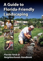 A Guide to Florida-Friendly Landscaping A Guide to Florida-Fr ...