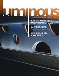 passie voor licht in architectuur alvaro siza led licht en ... - Philips