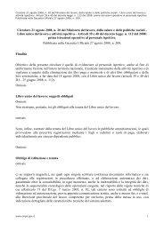Circolare 21 agosto 2008 n. 20 del Ministero lavoro salute politiche ...