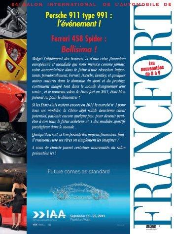 Salon de Frankfort - Magazine Sports et Loisirs