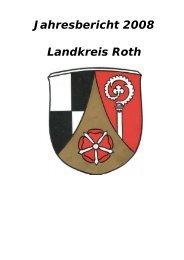 Jahresbericht 2008 Landkreis Roth - Landratsamt Roth