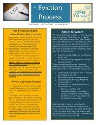 Eviction Process - Act Locally Waco