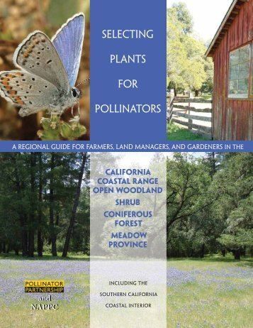 Selecting Plants for Pollinators - Pollinator Partnership