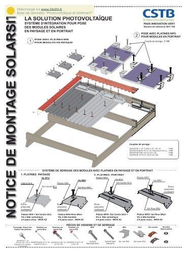 avis technique 21 09 02 talev. Black Bedroom Furniture Sets. Home Design Ideas