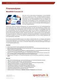 Produktblatt Morbi-RSA Forecast 2.0 - spectrumK