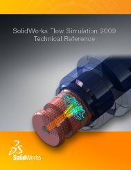 Flow Simulation 2009 Technical Reference