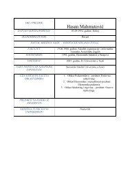Doc. dr. Hasan Mahmutović