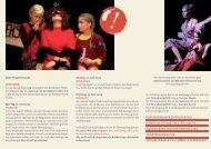 Für Theatergruppen, die am 22. Juni 2009 auftreten, entsteht eine ...