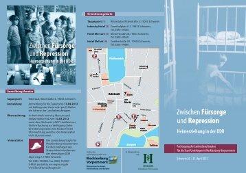 Repression Heimerziehung in der DDR - Landesbeauftragte für ...