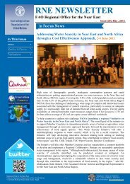 Issue (39) - 31 May - FAO Regional Office for the Near East