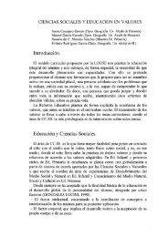 Ciencias sociales y educación en valores - asociación universitaria ...
