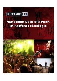 Handbuch über die Funk- mikrofontechnologie - Line 6
