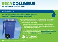 You asked for it! - Public Service - City of Columbus