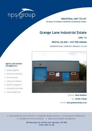 Grange Lane Industrial Estate - NPS