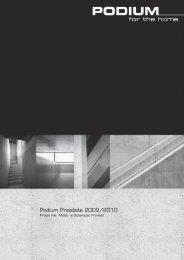 Podium Preisliste 2009/2010 - Philips