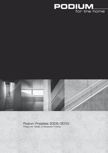 Podium Preisliste 2009/2010 - Philips