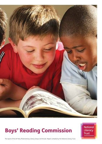 Boys' Reading Commission report - National Literacy Trust