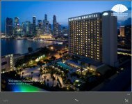 Welcome to Mandarin Oriental - Mandarin Oriental Hotel Group
