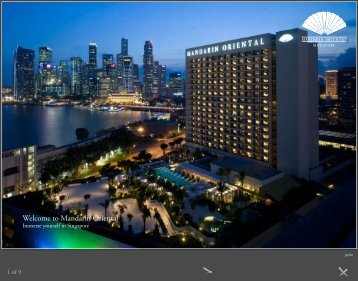 Welcome to Mandarin Oriental - Mandarin Oriental Hotel Group