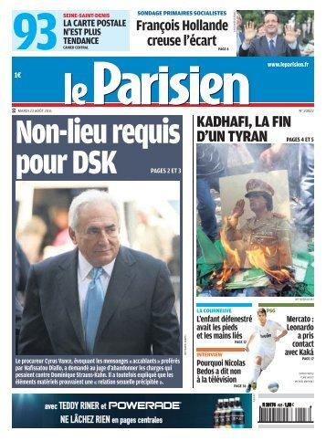 KADHAFI, LA FIN D'UN TYRAN PAGES 4 ET 5 - Pierrefitte Socialiste