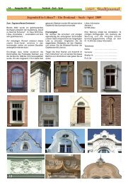12 13 Jugendstil in Löbau?! - Ein Denkmal – Such ... - Stadt Löbau