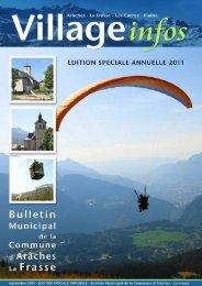 bulletin municipal - édition spéciale annuelle 2011 - Commune d ...
