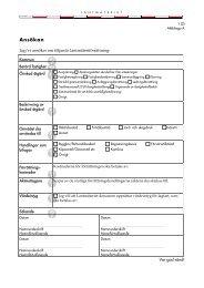 Ansökan om lantmäteriförrättning (pdf) - Lantmäteriet