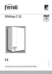 DIVAtop C 32 - Ferroli