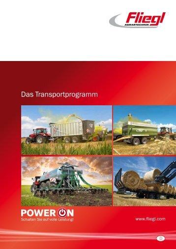 Das Transportprogramm - Fliegl Agrartechnik