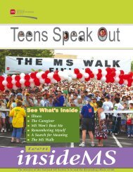teen - National Multiple Sclerosis Society