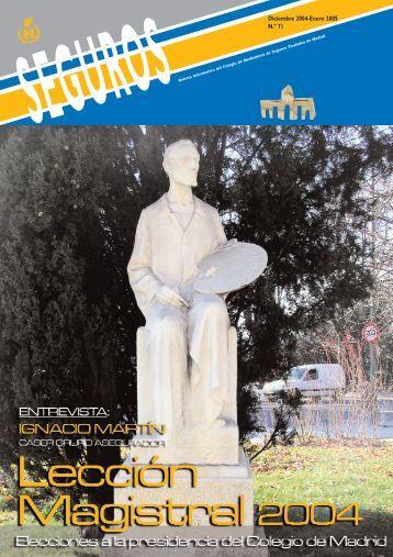 Diciembre 2004-Enero 2005 N.º 71 - Colegio de Mediadores de ...