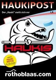 """Der """"Hauki"""" stellt sich vor HAUKI MÜTZE - Home - Eishockey Kaltern"""