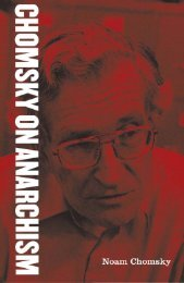 Chomsky on Anarchism.pdf - Zine Library