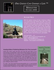 How Do I Intend? - Amethyst Moon Publishing