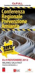 Conferenza Regionale Prevenzione Amianto - Anmil