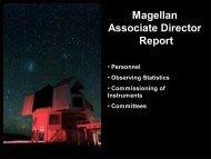 Magellan Associate Director Report - MagellanTech