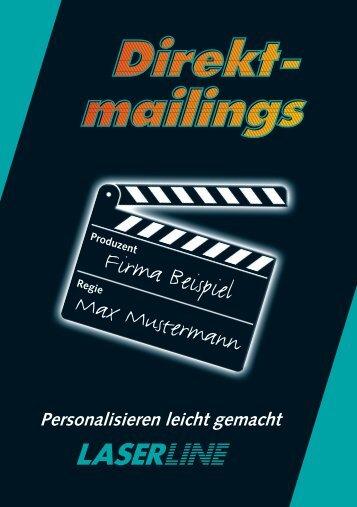 RegieFirma Beispiel Max Mustermann - Laserline