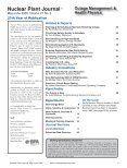 Nuclear Plant Journal Outage Management ... - Digital Versions - Page 5