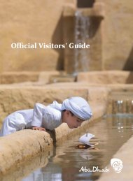 Official Visitors' Guide - Visit Abu Dhabi