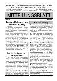 MB 2/2013 - pv-landwirtschaftslehrer.tsn.at