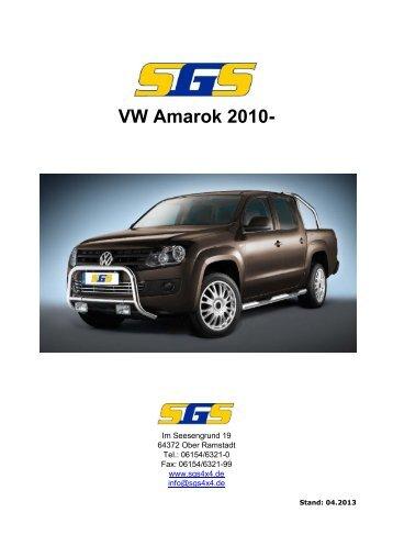 Amarok Typ 2H ab Bj. 2010 - SGS
