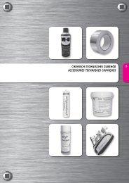 3 chemisch-technisches zubehör accessoires ... - Airproduct AG