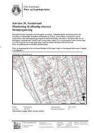 Solveien 39, Nordstrand Planforslag til offentlig ettersyn ...