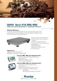 Serie 410 SRS/SRC - Precisa